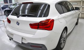 BMW 1シリーズ カーフィルム施工日誌