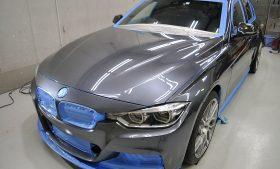 BMW 3シリーズ ガラスコーティング施工日誌