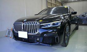 BMW 745e  ガラスコーティング施工例 港区 M様