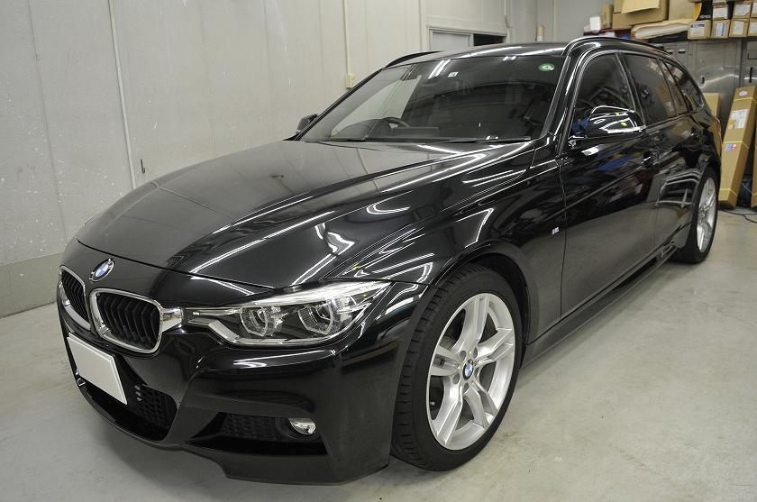 BMW 320i ツーリング カーフィルム施工日誌