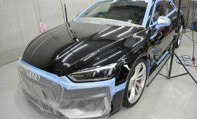 アウディ RS5 ガラスコーティング施工日誌