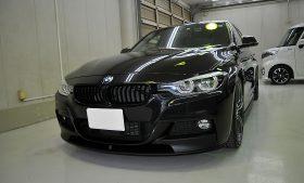 BMW 320d ガラスコーティング施工例 松戸市 S様
