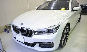 BMW 740i ガラスコーティング施工例 柏市 W様