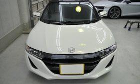 ホンダS660 ガラスコーティング磨き施工例 江戸川区から N様