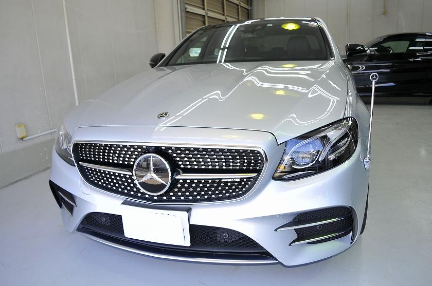 AMG E53 ガラスコーティング施工例 台東区 H様