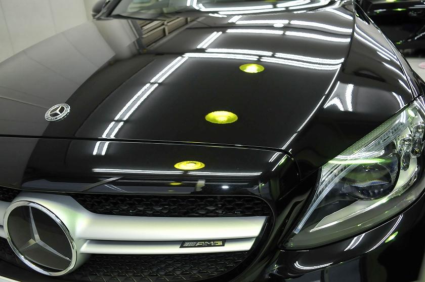 AMG C43 クーペ ガラスコーティング施工例 墨田区 H様
