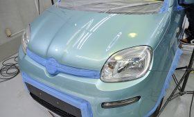 フィアット パンダ 4×4 ガラスコーティング施工日誌