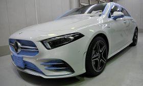 メルセデスベンツ AMG A35 カーコーティング施工日誌