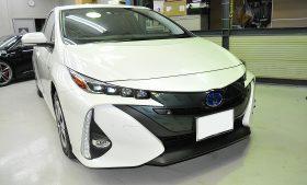 トヨタ プリウス PHV ガラスコーティング施工例 匝瑳市 M様
