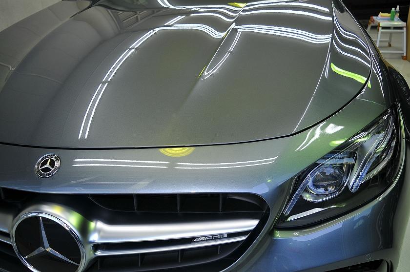 AMG E63S ガラスコーティング施工例 中野区 N様