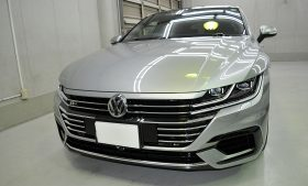 VW アルテオン ガラスコーティング施工例 江東区 W様