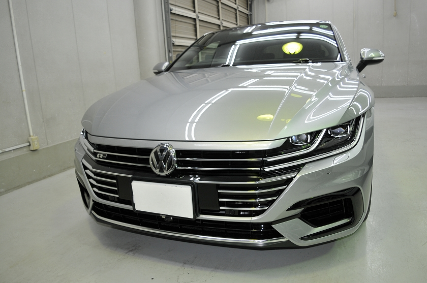 VW  アルテオン   ガラスコーティング施工日誌