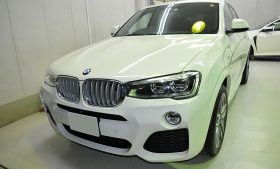 BMW X4 ガラスコーティング施工例 朝霞市 O様