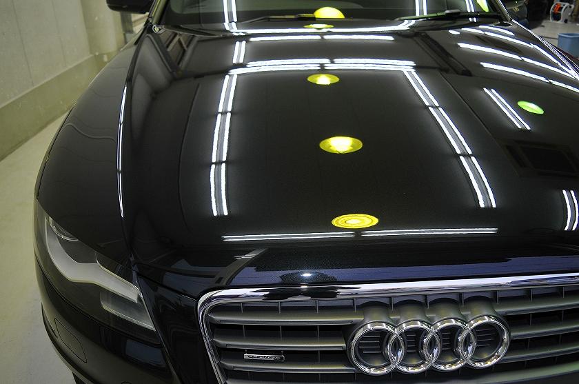 アウディ A4 アバント ガラスコーティング施工例 調布市 S様