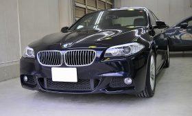 BMW 528i ガラスコーティング施工例 江東区 Y様