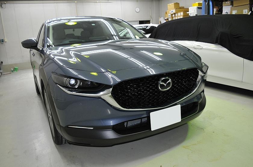 マツダ CX-30 ガラスコーティング施工例 浦安市 K様