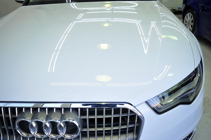 アウディ A6 オールロード ガラスコーティング施工例 中央区 M様