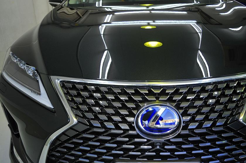 レクサス RX450h ガラスコーティング施工例 西東京 S様
