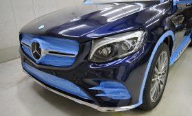 メルセデスベンツ GLC 350e クーペ ガラスコーティング施工日誌