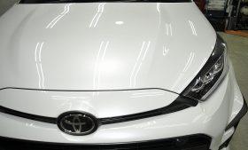 トヨタ GRヤリス ガラスコーティング磨き施工例 横浜市 M様