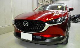 マツダ CX-30 ガラスコーティング施工例 宇都宮市 I様