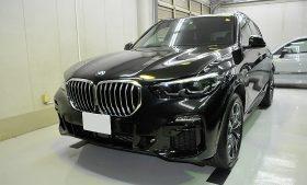 BMW X5 ガラスコーティング施工例 埼玉県新座市 O様