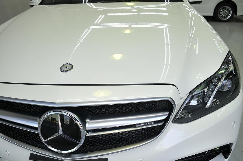 メルセデスベンツ AMG E63 ガラスコーティング施工例 練馬区 H様