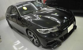 BMW 330i ガラスコーティング、磨き施工例 稲城市から I様