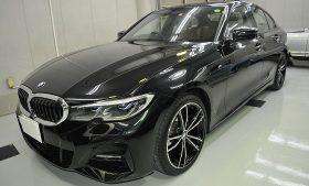 BMW320d ガラスコーティング施工例 中央区 K様