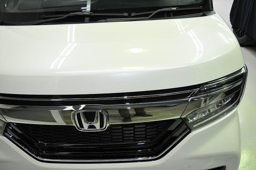 ホンダ N-BOX ガラスコーティング施工例 松戸市 M様