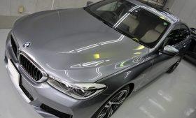BMW640GTガラスコーティング、磨き施工事例 港区から M様