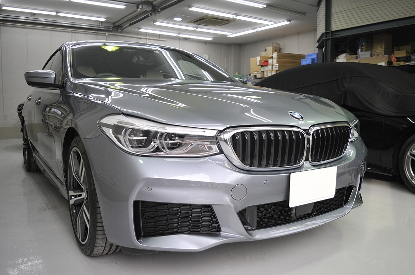 BMW 640GT カーフィルム施工事例