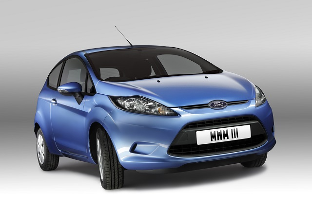 2008 Ford Fiesta ECOnetic (UK)