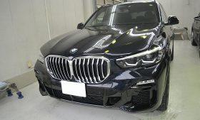 BMW X5 ガラスコーティング施工例 杉並区 M様