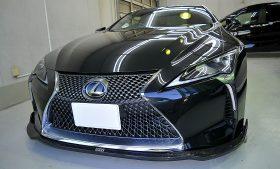 レクサス LC500 ガラスコーティング施工例 江戸川区 K様