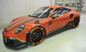 ポルシェ 911 GT3 RS カーフィルム施工事例