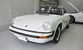 ポルシェ 911 SC カーコーティング施工事例 台東区 H様
