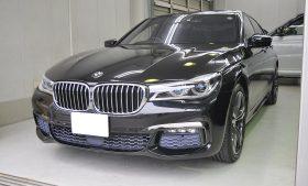 BMW  740e  カーコーティング施工事例 所沢市 F様