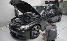 BMW 320d ガラスコーティング施工日誌