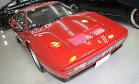 フェラーリ308GTBターボ ガラスコーティング磨き施工例 台東区から H様