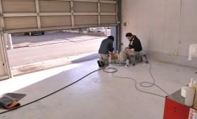 年末恒例「大掃除」&「作業工房床面防塵塗料塗り直し」