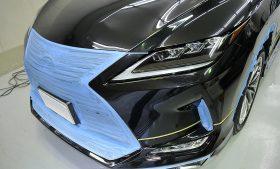 レクサス  RX450h ガラスコーティング施工日誌