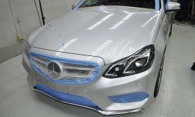メルセデスベンツ E250 ガラスコーティング施工日誌