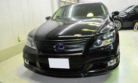 レクサス LS600hL ガラスコーティング施工例 江東区 S様