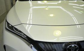 トヨタ ハリアー ガラスコーティング磨き施工例 葛飾区 K様