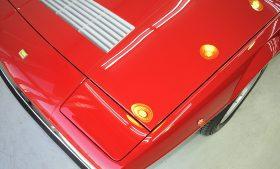 フェラーリ GT4 ガラスコーティング磨き施工例 台東区 H様