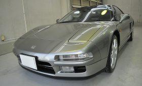 ホンダ  NSX ガラスコーティング施工例 大阪府池田市 U様