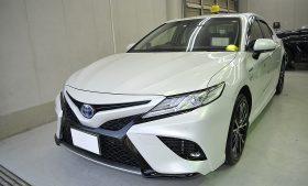トヨタ カムリ ガラスコーティング施工例 江戸川区 T様