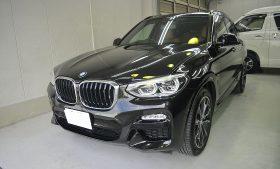 BMW X3 ガラスコーティング施工例 江戸川区 K様