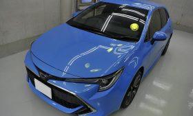 トヨタ カローラスポーツ ガラスコーティング、磨き施工例 佐倉市 K様